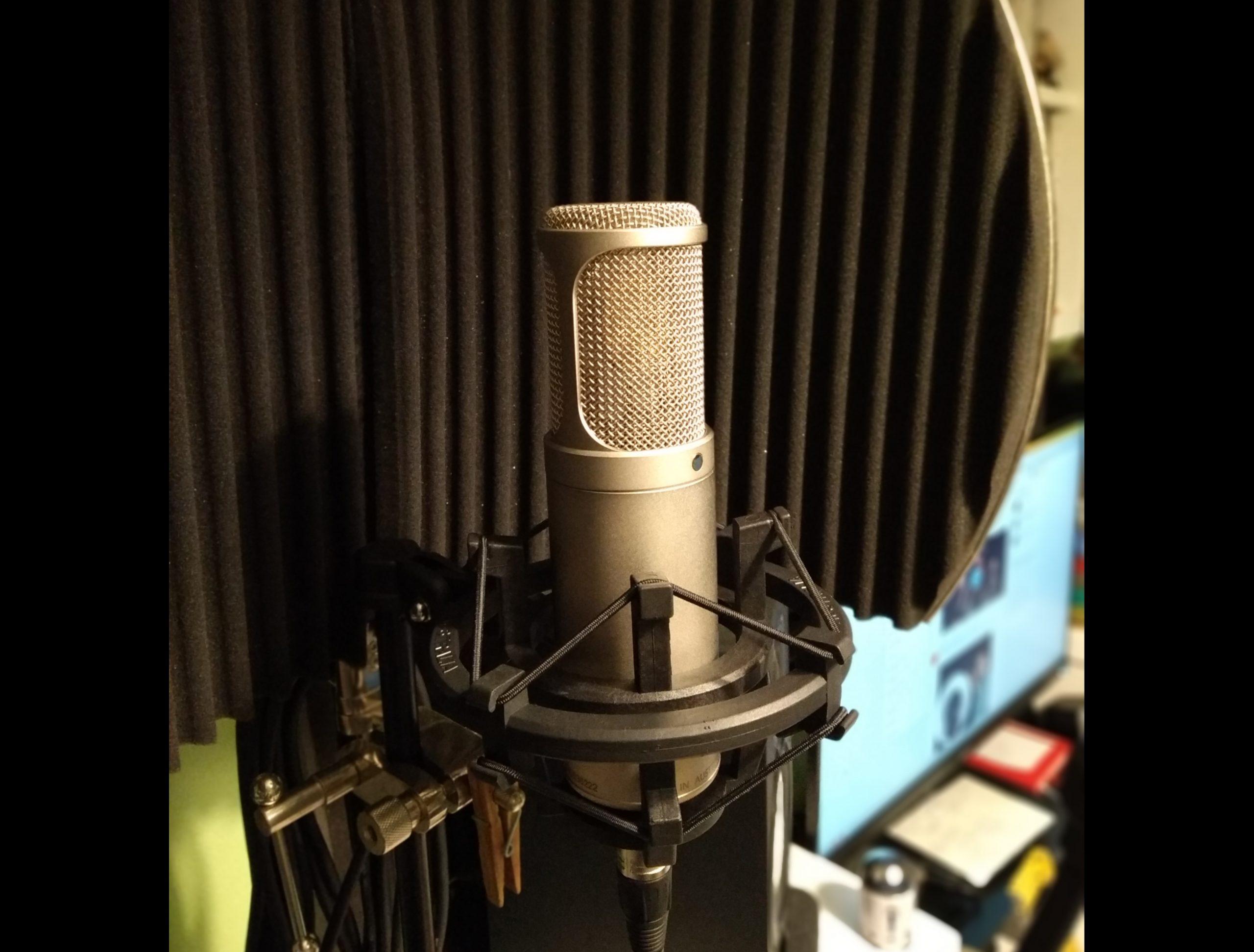 Graba voces e instrumentos